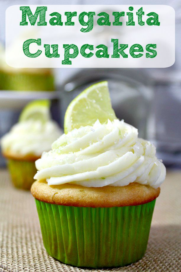 Margarita Cupcakes Recipe. This is perfect for your spring or summer BBQ. http://tobethode.com
