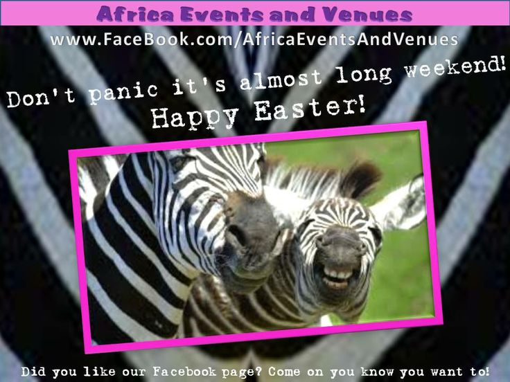 Happy Easter holidays from the Events And Venues Marketing Team