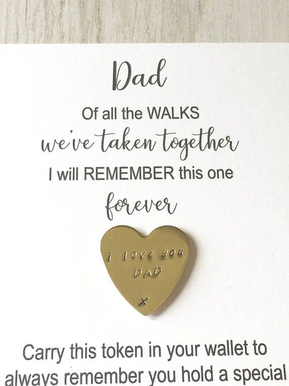 Wedding Sign Wedding Gift Dad Gift Dad Of All the Walks We Have Taken Together