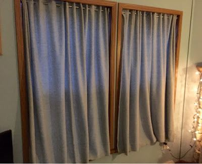 No Sew Fleece Insulated Curtains A Decorating Hack