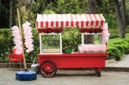Cotton Candy & Popcorn Booth