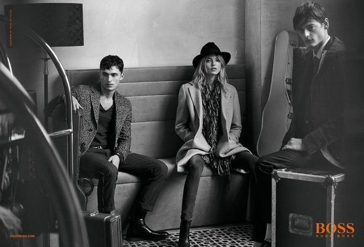 Martha Hunt is One of the Guys in BOSS Orange's Fall 2015 Ads