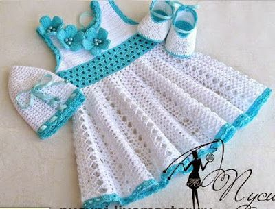 Girl Dress   Speaking of crocheting ... see this beautiful dress I made for my daughter!  It's easy to make it practical.               ...
