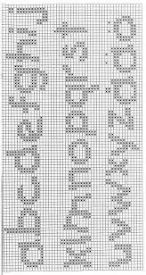 Resultado de imagen para abecedario punto de cruz bebe