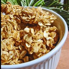 Oatmeal Cookie Granola Recipe- it smells so good right now :)