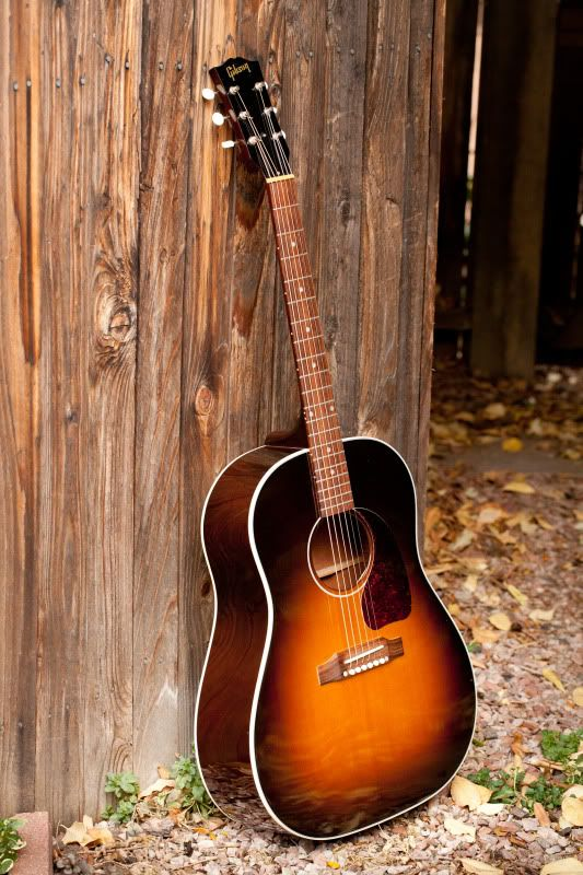 Gibson J-45 Standard | Acoustic guitar -- a beautiful instrument in a beautiful setting.