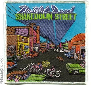 Grateful Dead - Shakedown Street Patch on Sale for $5.99 at HippieShop.com