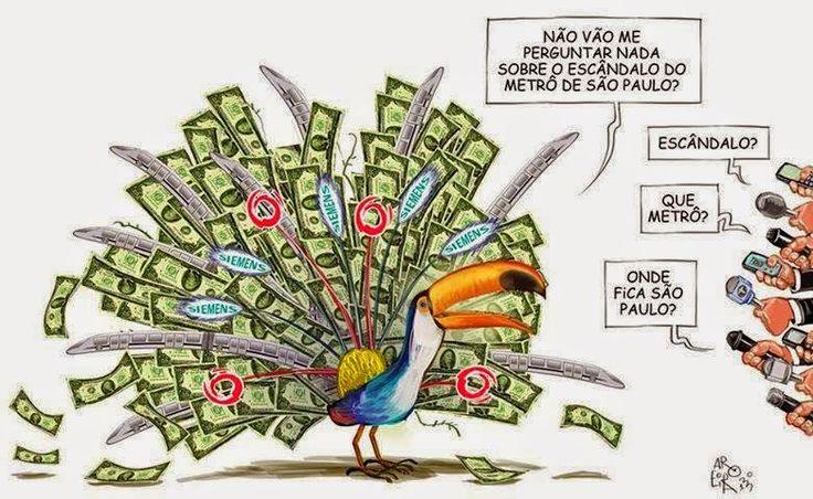 Justiça Federal bloqueia R$ 600 milhões de empresas do propinão tucano nos trens   Os Amigos do Presidente Lula