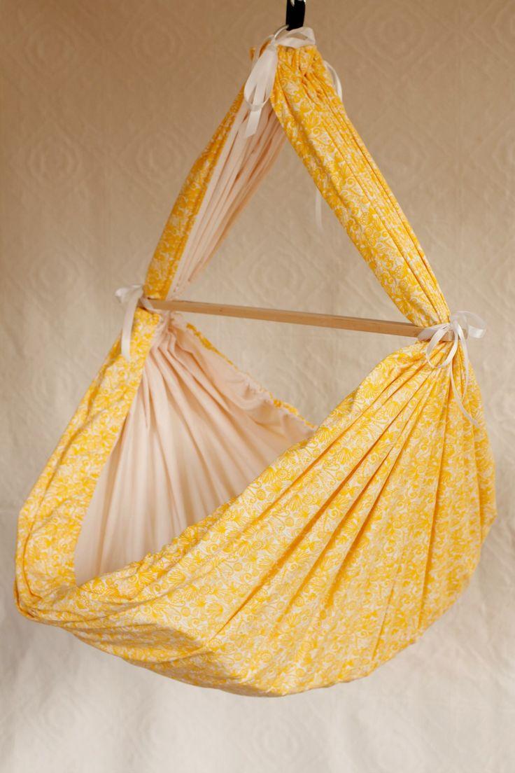 Gul slyngevugge for de som elsker gult :-)