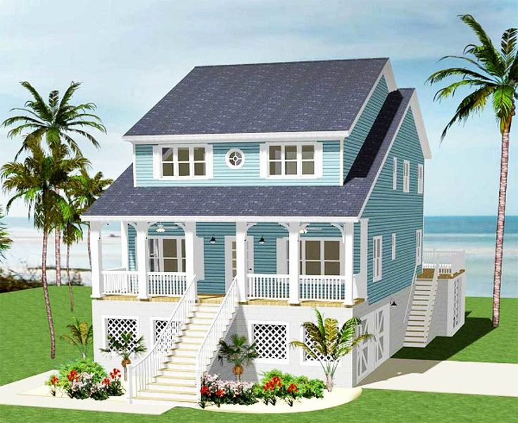 beach bungalow house plans plan 46232la five bedroom cottage cottages 16233