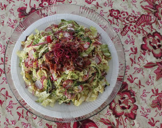 how to make savoy cabbage and bacon
