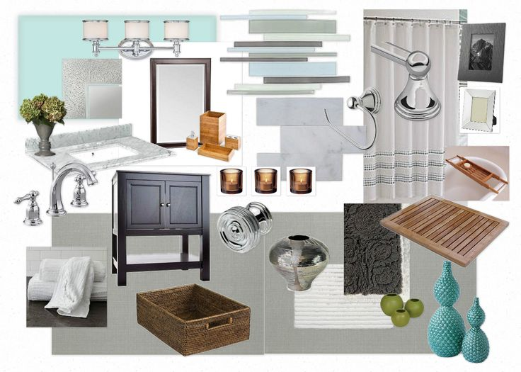 Mood Board Palette For Bathroom Design Bathrooms Spas Pinterest Mood Boards Bathroom