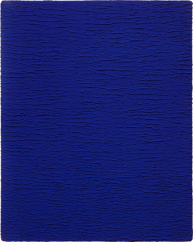 Yves KLEIN - Conceptual Art - New Realism - Blue - Archives 03