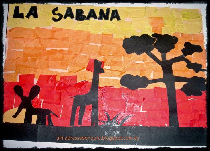 Madrassatu Ummu Yumna: La sabana: primera parte del proyecto de los paisajes del mundo