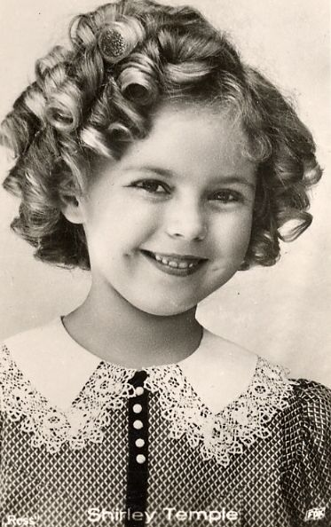 Shirley Temple, 1930s.     a very talented little lady that brought happiness to most during the depression days....