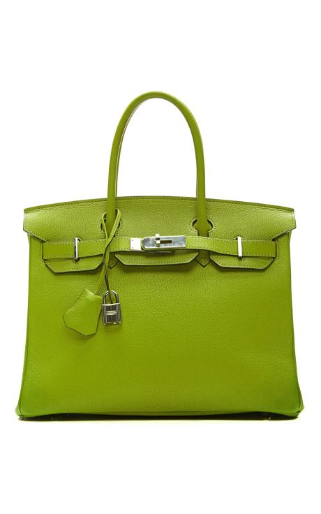 30Cm Vert Anis Chevre Leather Birkin by Heritage Auctions Special Collections - Moda Operandi