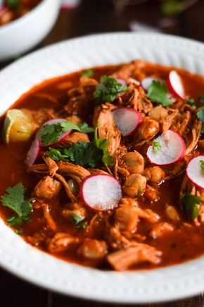 Slow Cooker Chicken Posole Recipe Posole Recipe Chicken Slow Cooked Meals Slow Cooker Chicken