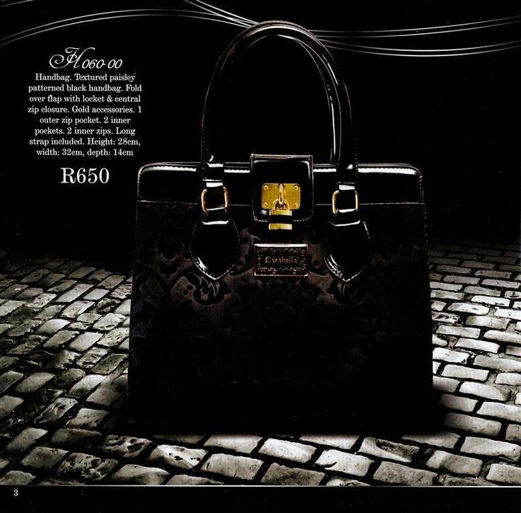 Dark brown bag - eeeek :)