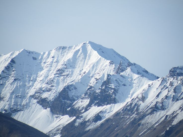 Mt Denali, we had a perfectly clear and beautiful day, and had a great view of this beautiful mountain September 3 2009