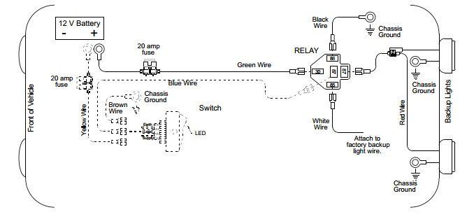 Back-up Light Wiring Diagram