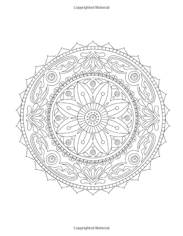 sacred mandala coloring pages - photo#34