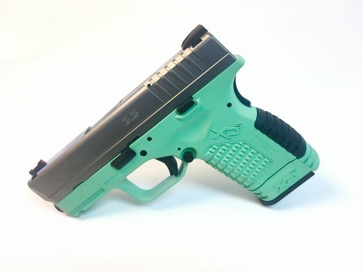 A new color available only at T&Z Armory!  This is Winter Mint on an Springfield XDs 9mm!  Pick one up at www.tzarmory.com
