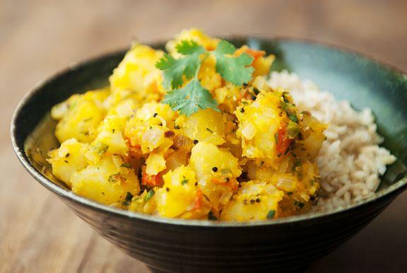 Recipe: potato masala