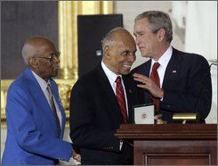 Tuskegee Airmen Receive Congressional Gold Medals