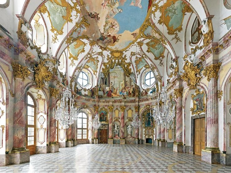 Kaisersaal in the w rzburg residence german w rzburger for Interieur baroque
