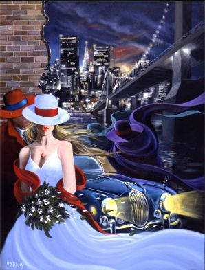 Artify Collections - Hand Painted High City Life Oil Painting Number 041, $74.14 (http://artifycollections.com/hand-painted-high-city-life-oil-painting-number-041/)