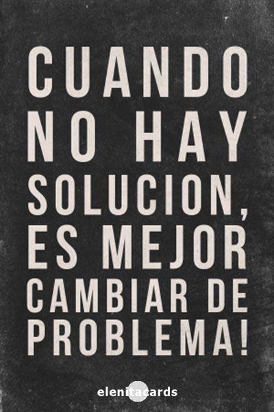 frases, pensamiento, solución, problemas