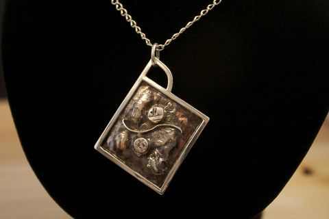 one-of-a-kind silver handcrafted jewellery...