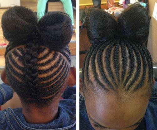 Natural Hair Braiding Styles For Kids: Best 25+ Kid Braids Ideas On Pinterest