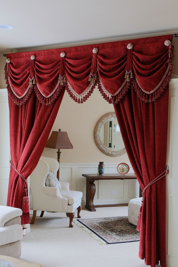 Drapery And Curtain Ideas: Curtain Valances - Google Search