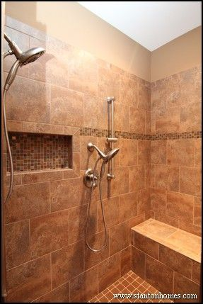 find this pin and more on showers with a builtin bench