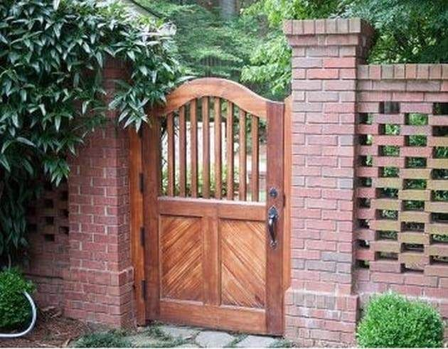 50 Fascinating Wooden Garden Gates Ideas Fences