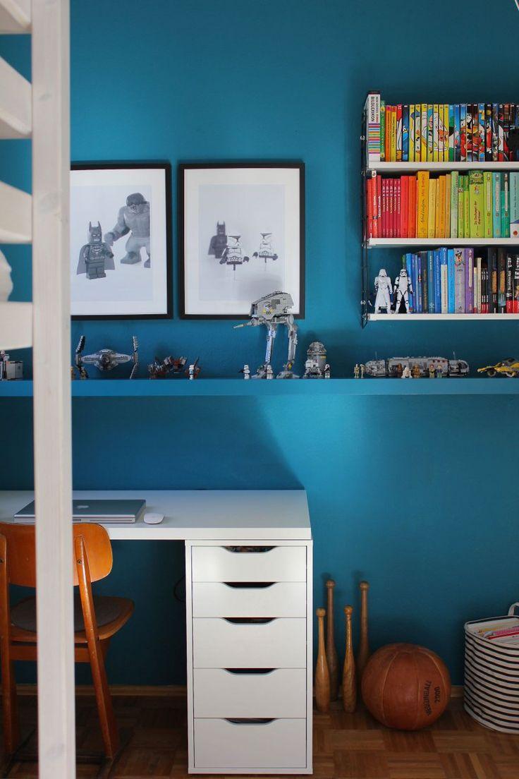 die besten 25 wandfarbe petrol ideen auf pinterest. Black Bedroom Furniture Sets. Home Design Ideas