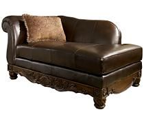 Get Your North Shore   Dark Brown   LAF Corner Chaise At Furniture Factory  Outlet, Warsaw IN Furniture Store.