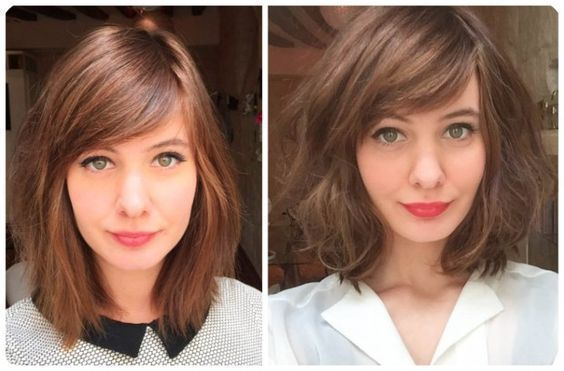 27+ Best Medium Hairstyles with Bangs for Women – …