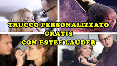 Trucco personalizzato gratis con Estée Lauder - http://www.omaggiomania.com/eventi/trucco-personalizzato-gratis-con-estee-lauder/