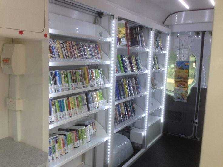 Interior, Gosford Library's Bookmobile 2014