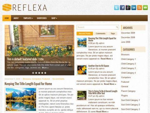 Reflexa WordPress theme