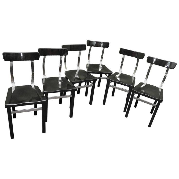 Six Chairs by Lajos Kozma 1