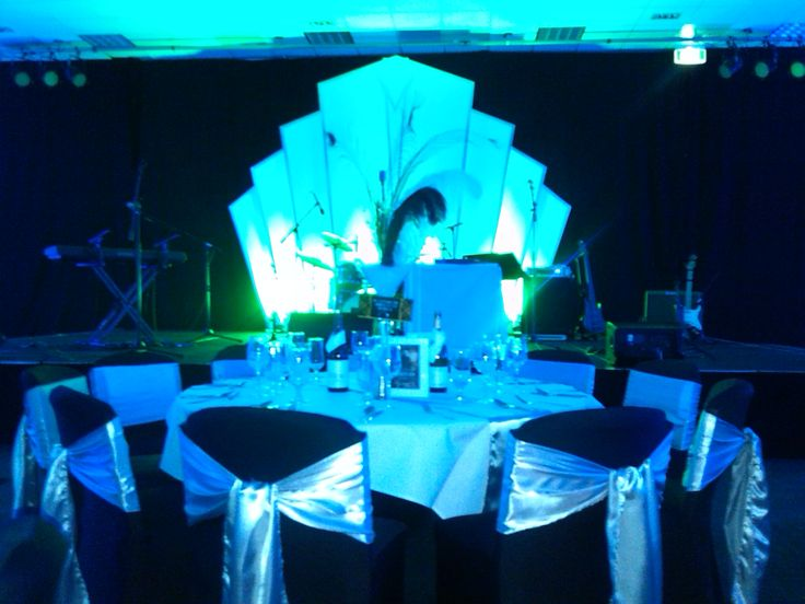 Lighting effects grab of the 1920's stage prop at the Fonterra Marketing & Innovation Celebration 2013