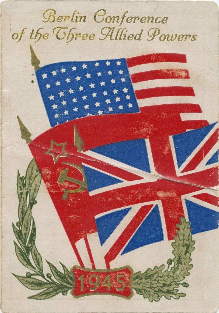 Ausweis eines britischen Teilnehmers an der Potsdamer Konferenz