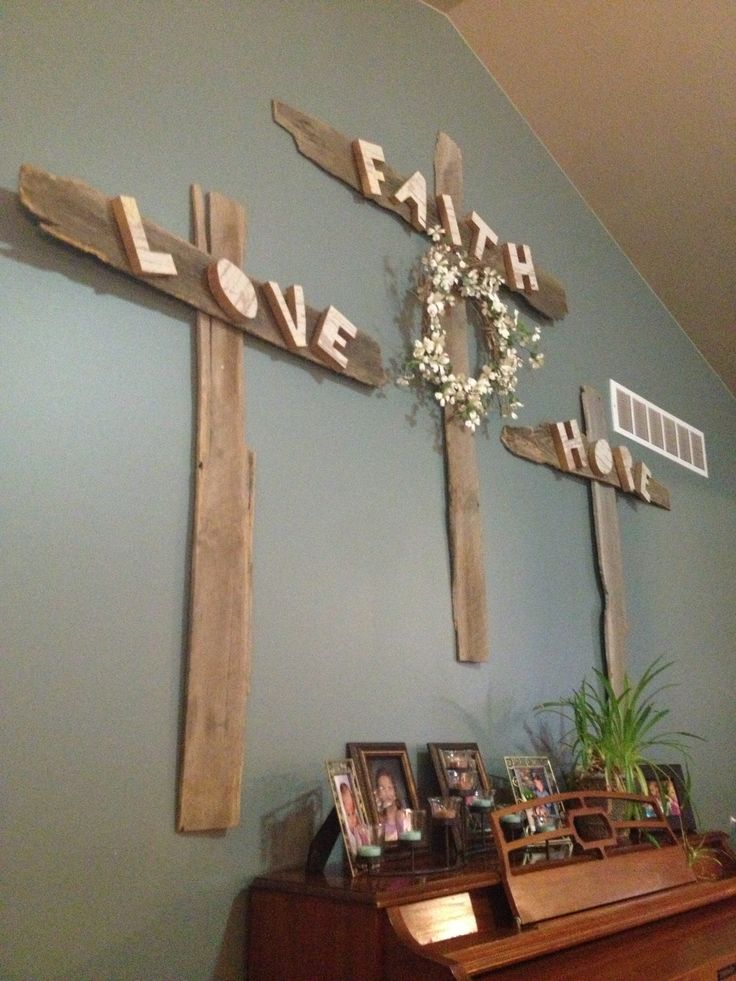 Wooden crosses recycled wood | Projects I've done ...