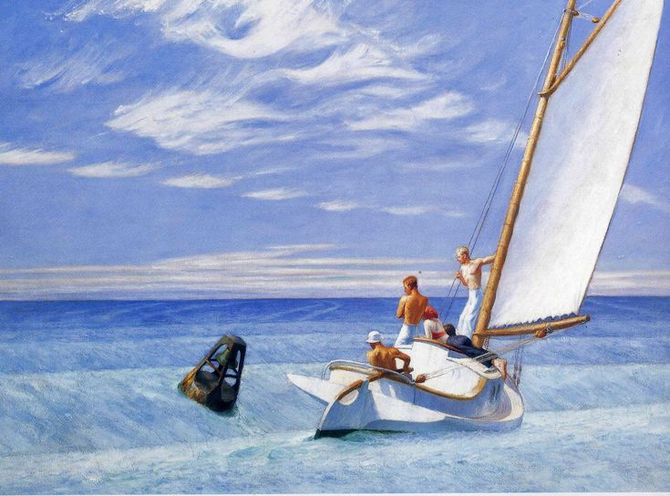 Ground Swell, Edward Hopper (1939)