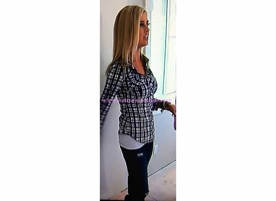 "Flip or Flop Episode: 8 ""Barnyard Dance"" Christina El Moussa's Plaid Shirt : You Don't Have To Be Famous To Be a Housewife"