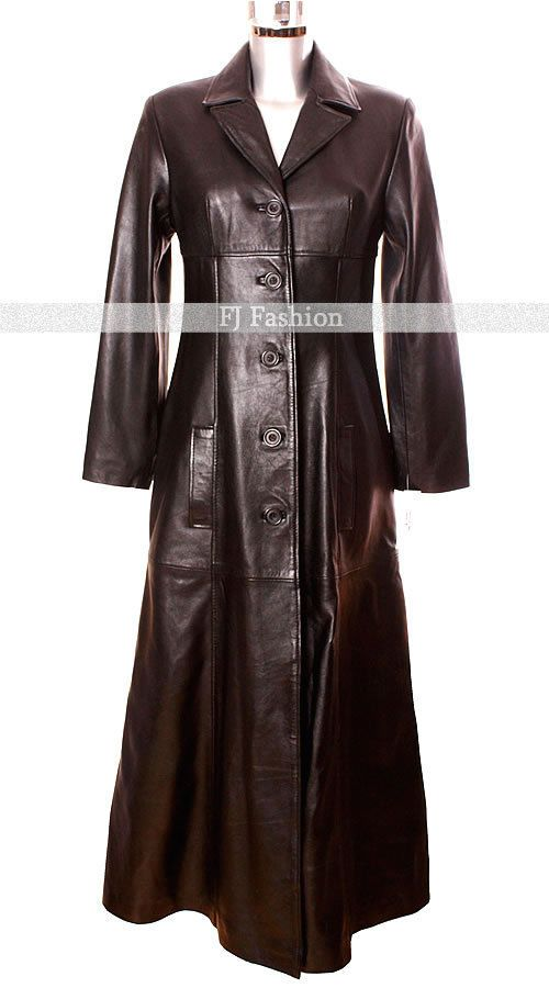 The 25  best Long leather coat ideas on Pinterest | Black leather ...