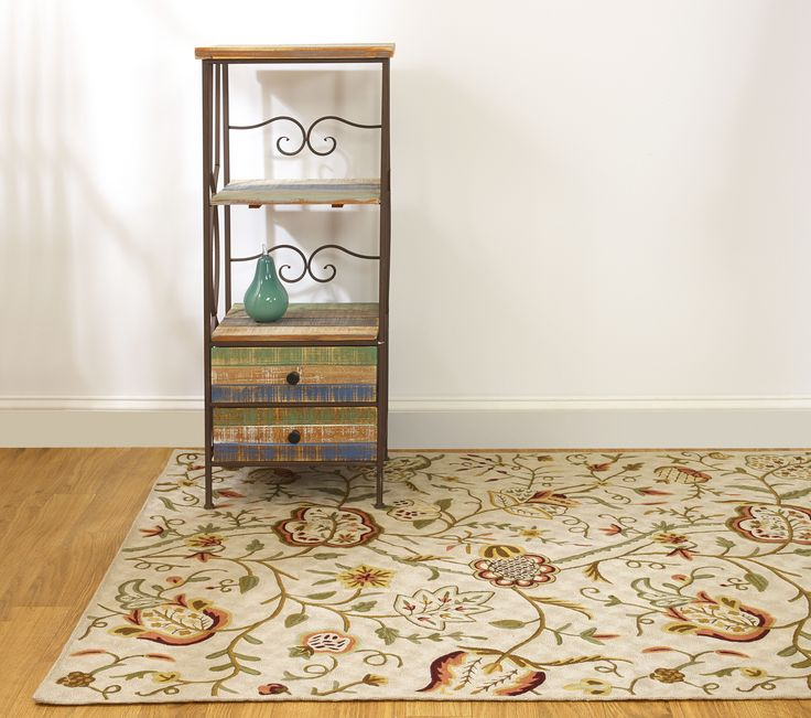 Fab Habitat Heritage Collection Crewel Rugs Sherwood Rug MaterialIndoor RugsLiving Room
